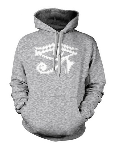 3rd eye grey hoodie