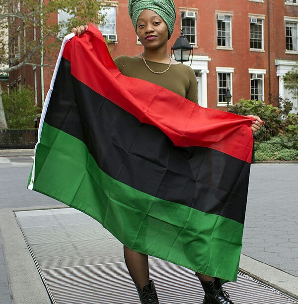 RBG FLAG LADY