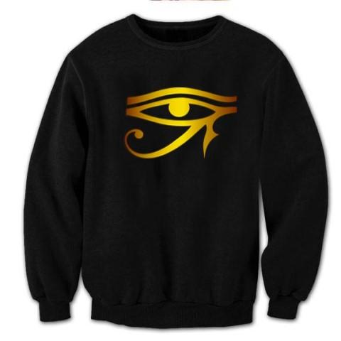 3rd eye black & gold sweatshirt DK X 640