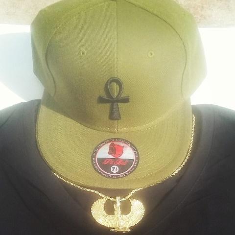 ANKH OLIVE ARMY GREEN CAP X 640