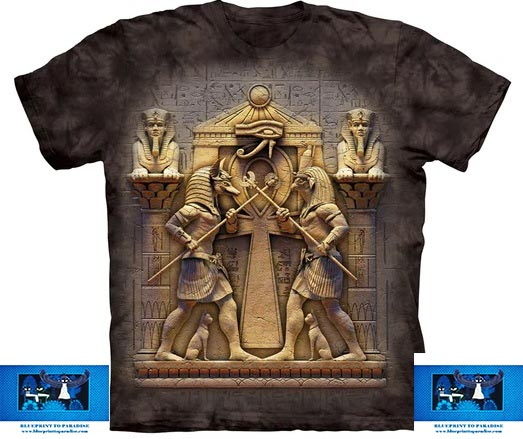 Heru Brown T-Shirt logo